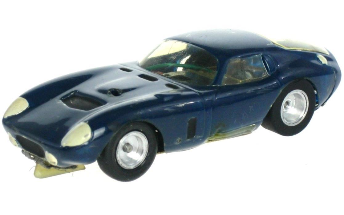 Vintage 1960's Daytona Cobra 1/32 Slot Car w/Custom Brass Chassis Revell