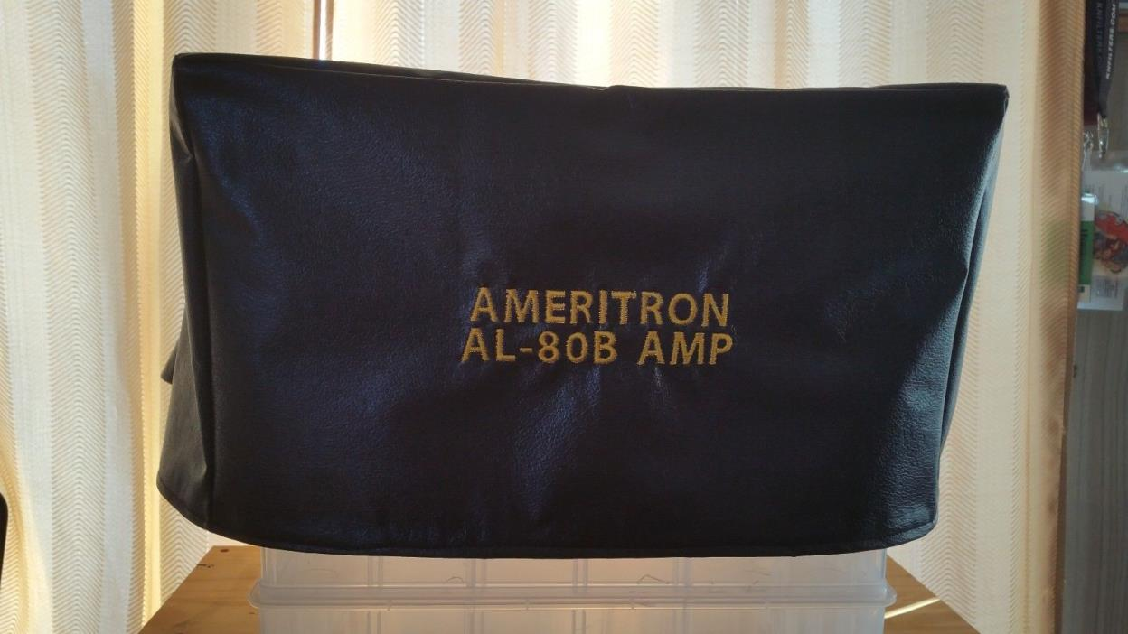 Ameritron AL-80B Ham Radio Amateur Radio Dust Cover