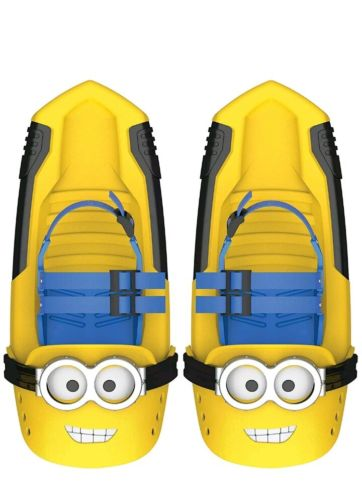 Tech 4 Kids Minion Snow Shoes