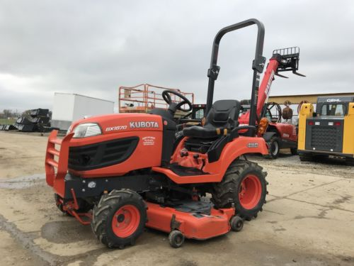 2013 Kubota BX1870 4x4 Diesel Lawn Tractor Only 115 Hours 54