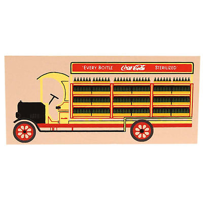 Cats Meow 1929 COCA COLA DELIVERY TRUCK Wood Vintage Coke CSTA523