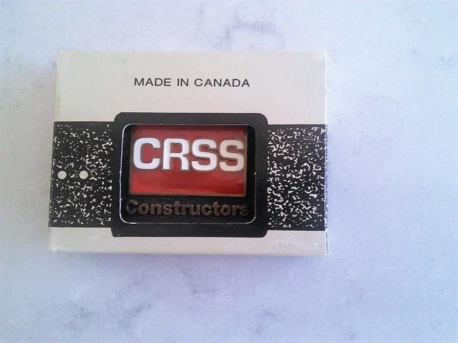 CRSS Constructors Belt Buckle