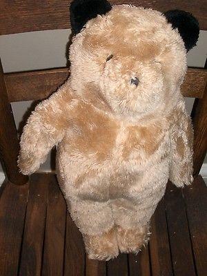 Vintage Straight-legged Bear by Eden toys under License of Paddington
