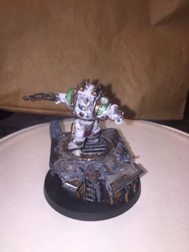FORGEWORLD 40k painted CALAS TYPHON FIRST CAPTAIN OF THE DEATH GUARD