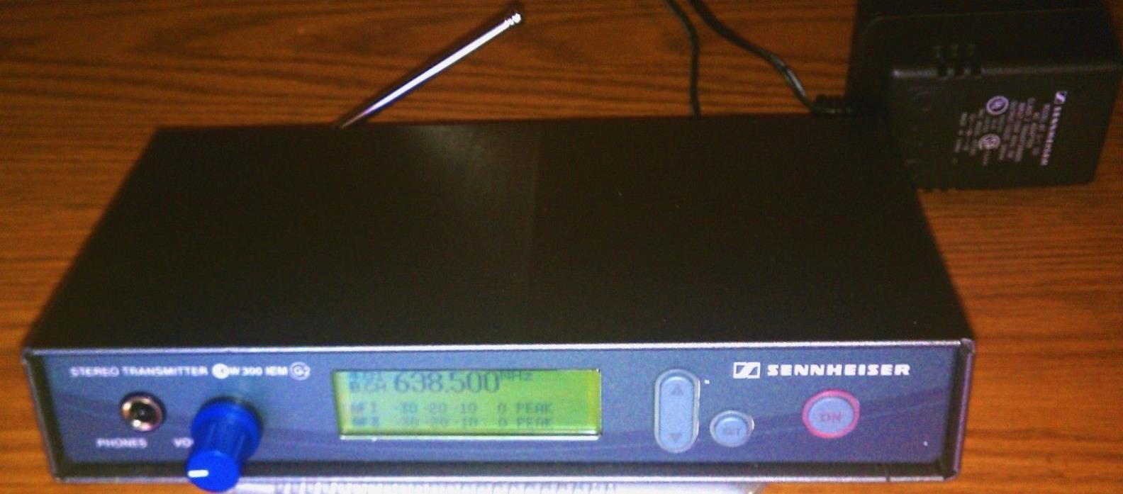Sennheiser EW300 IEM G2 Wireless In-Ear Monitor Transmitter B 626-662 SR300IEM