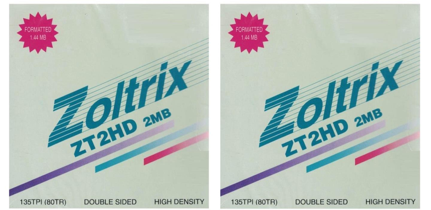 Zoltrix ZT2HD 10-Pack DS HD 3.5