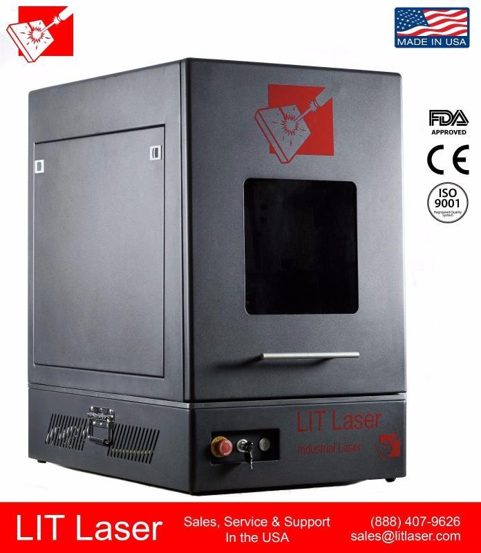 NEW 100watt MOPA FIBER LASER 2.5D DEEP ENGRAVING SYSTEM