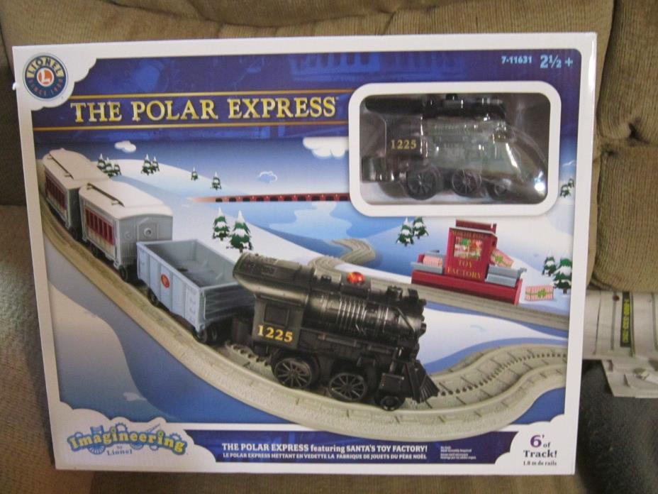 LIONEL IMAGINEERING TRAIN SET THE POLAR EXPRESS  7-11631