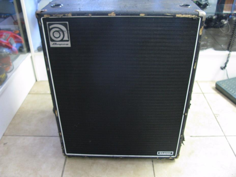 Ampeg SVT-410HLF Classic Bass Speaker Cabinet MADE IN USA