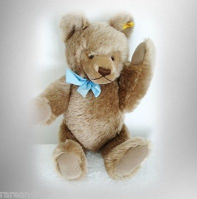 Steiff bear with button and tag - plush body FREE SHIPPING