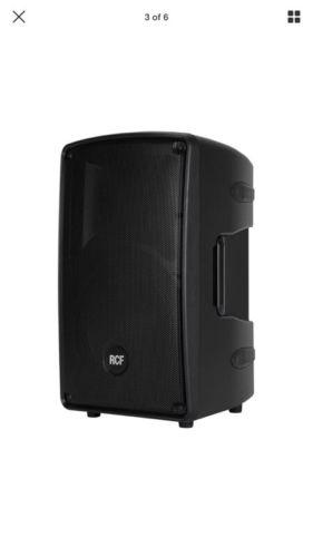 RCF HD 32-A Active 2-Way 1400-Watt Bi-Amped DSP Monitor Speaker HD32A.