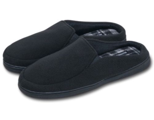 Mens Slippers  AntiSlip Soft Warm Memory Foam Fleece Indoor/outdoor Sz.13