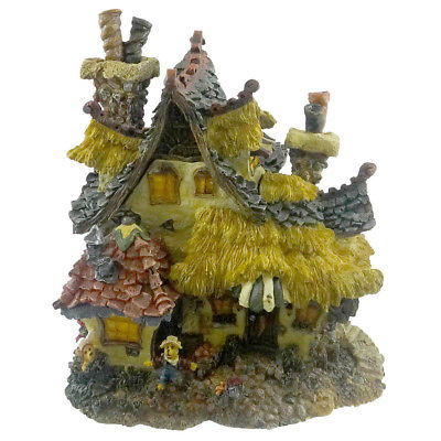 Boyds Bears Resin EMILYS CARROT COTTAGE Resin Bearly-Built Villages 19014 RFB