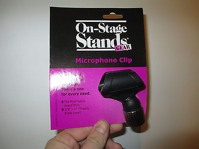 ON STAGE STANDS OSS MY-252 MICROPHONE MIC CLIP