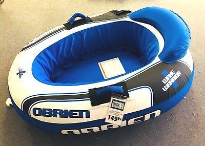 $149 O'Brien Wake Warrior 1 Towable Ski Rider Tube - DK1_D1
