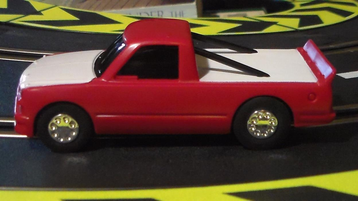 Artin 1:43 Slot Chevy Silverado Racer Roll Bars Red Looks Sharp