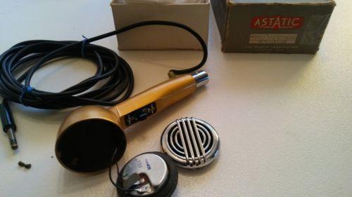 1950's Vintage Astatic 200s Bullet Microphone