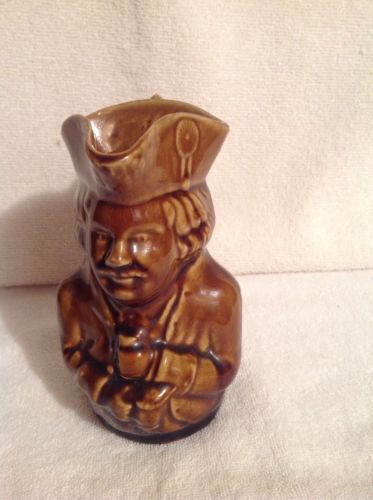 Heavy Pottery Vintage Syrup Pitcher Rare