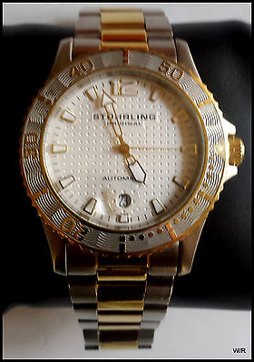 Stuhrling Men's Automatic Watch- ST-91006 - Needs Service or For Parts Only