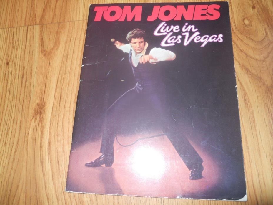TOM JONES Live in Las Vegas  -  Songbook