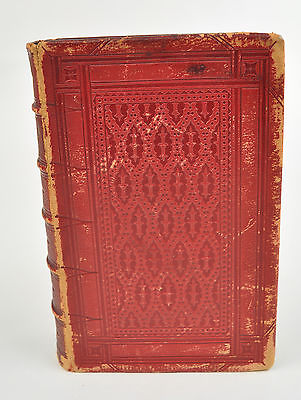 Robert Aris Willmott Tasso's Jerusalem Book 1858 By Corbould Leather Bound