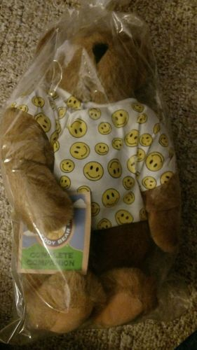 Vermont teddy bear new get well bear smiley face