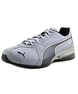Puma RIPSTOP Mens Tennis RUNNING Shoes size 12 NEW QUARRY BLACK PUMA SILVER