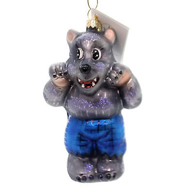 Christopher Radko WOLFIE Glass Halloween Werewolf 002220