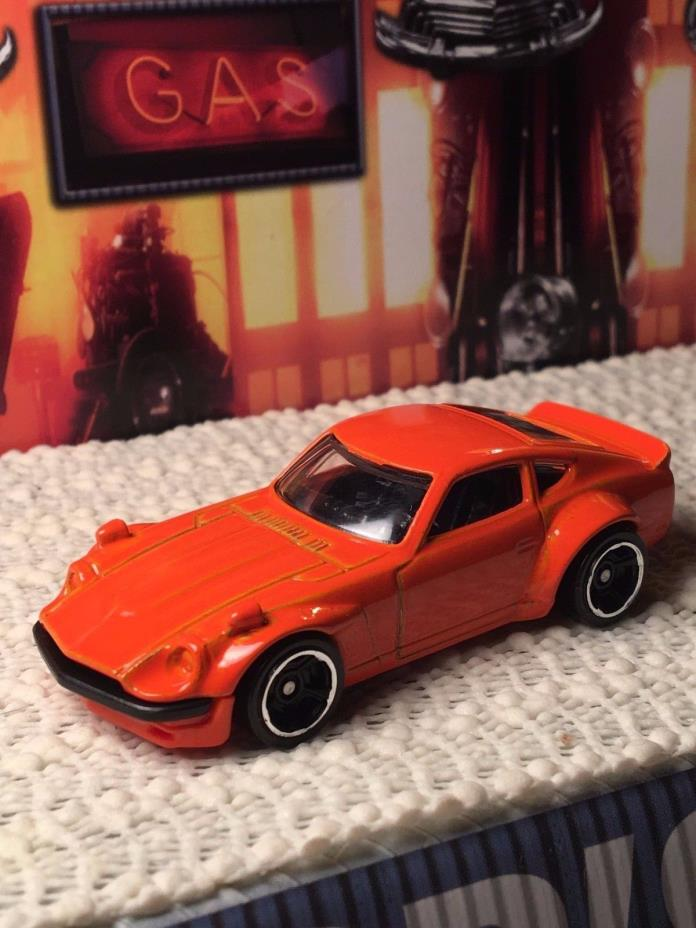 Hot Wheels Custom DATSUN 240Z 2017 FuguZ Racing GReddy JDM Import Mint Loose