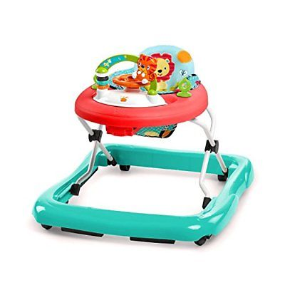 Bright Starts Walk-A-Bout Walker Roaming Safari Walkers Baby Gear