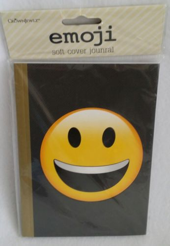 Emoji Soft Cover Journal ~ New in Package