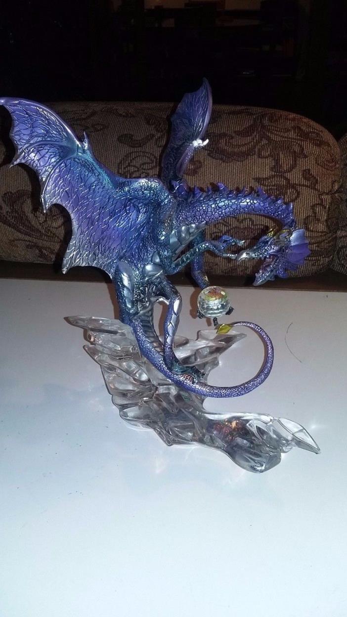 Franklin Mint Blue Dragon