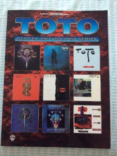 TOTO - Guitar Anthology Series - Guitar tab / Tablature book