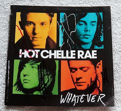 Hot Chelle Rae Whatever CD Signed by All 4 Members Entire Band Auto