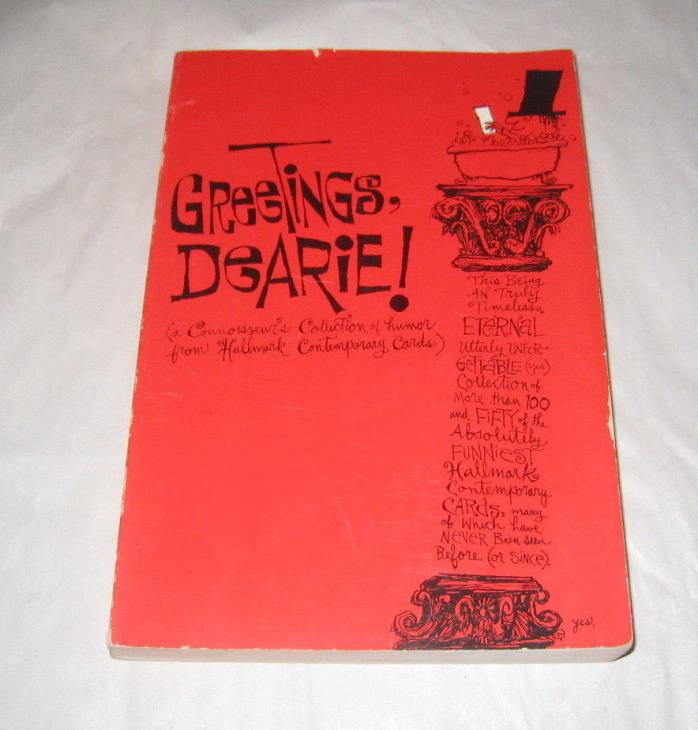 Greetings Dearie Collection 150 Contemporary Hallmark Cards Inc 1962 PB p191