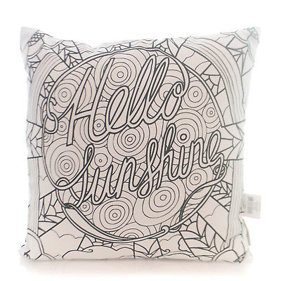 Home Decor SUNSHINE COLOR PILLOW Fabric Hobby Stress Relieving 32224.