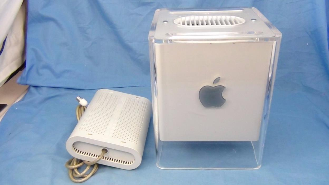 Apple Power Mac G4 Cube + 1.2 Ghz Sonnet - Parts / As-Is