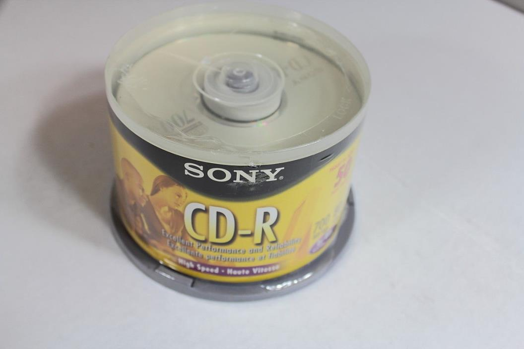 Sony CD-R 80 minutes 700MB 50-Pack