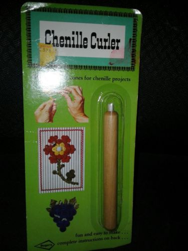 Vintage Rogers Chenille Curler in Original Package W T Rogers Co USA