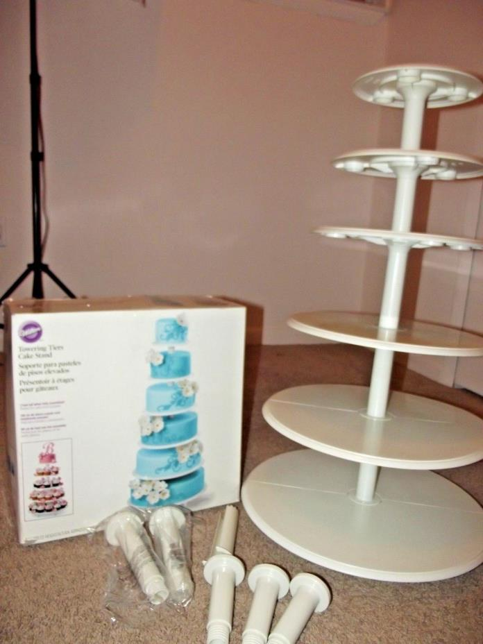 Wilton 307-892 Towering Tiers Cakes Stand ~ Wedding Cupcake Display