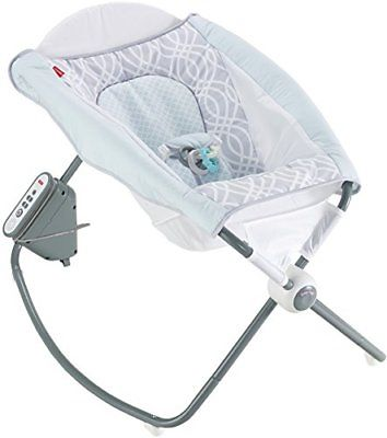 Fisher-Price Newborn Auto Rock 'n Play Sleeper Bouncers Vibrating Chairs Baby