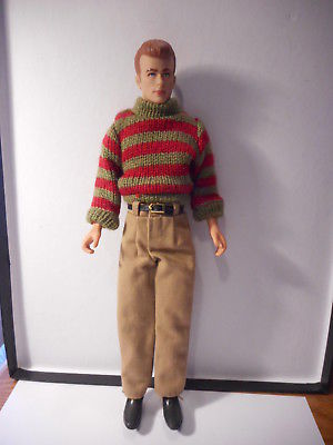 City Streets James Dean Doll Action Figure DSI 1994 Used
