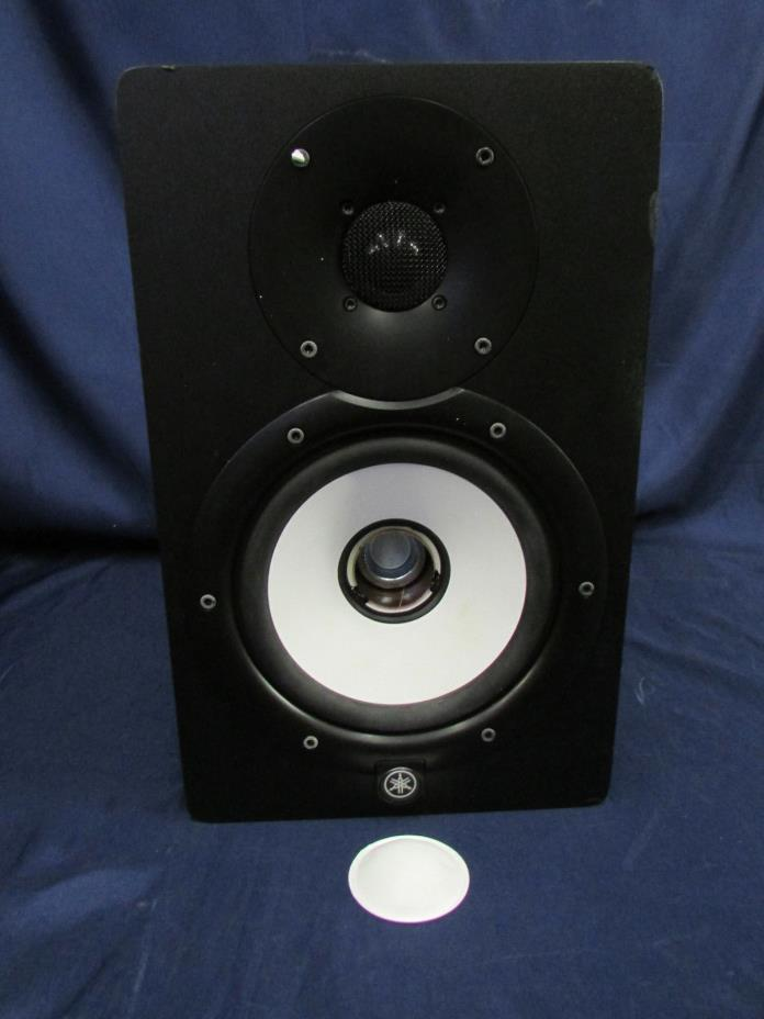 Yamaha HS7 Powered Speaker Studio Reference Monitor For Parts Or Repair
