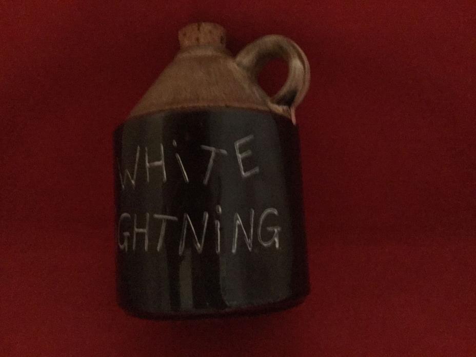 White lighting jug, 4 3/4