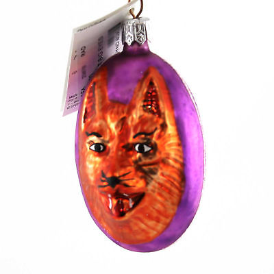 Christopher Radko MY WHAT BIG EYES # Glass Two Sided Red Riding Hood