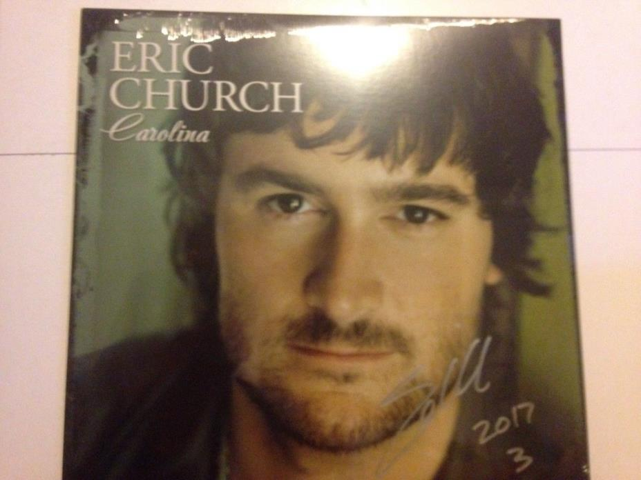 Eric Church Autographed Record Collection Limited Edition