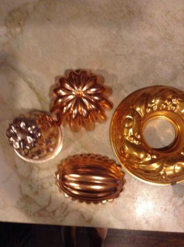 Vintage Copper Molds