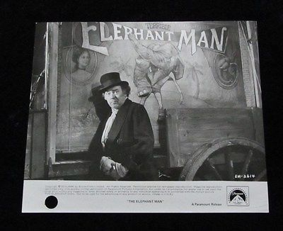 THE ELEPHANT MAN original press photo # 1 FREDDIE FRANCIS