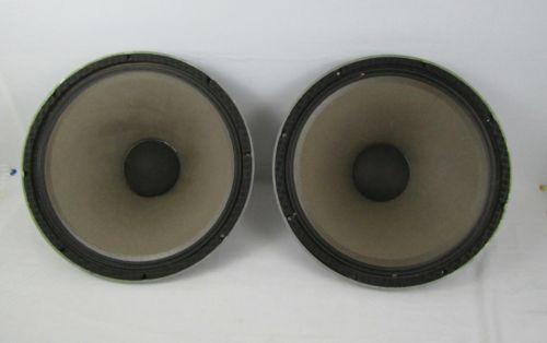 Pair of 2 Vintage JBL G135A-8 15