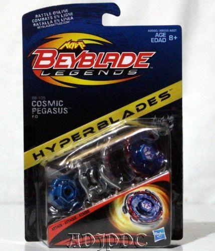 NEW HASBRO HYPERBLADES BEYBLADE COSMIC PEGASUS F:D BB-105